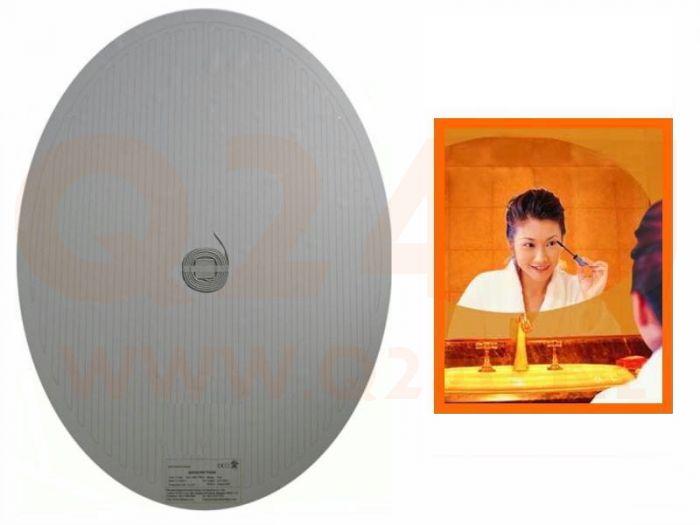 Spiegelverwarming4u Nl Badkamer Spiegelverwarming Ovaal 600 900 Mm 60 X 90 Cm 230 Volt Spiegelverwarming4u Nl