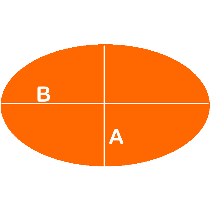 Ovaal (6 mm)